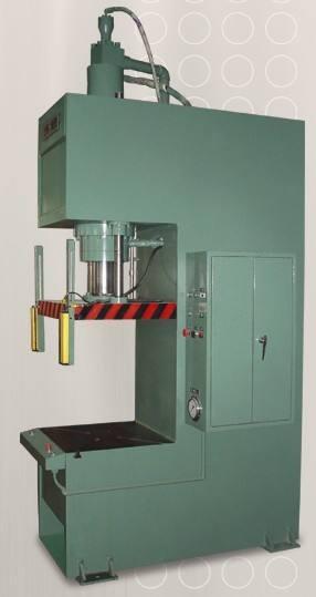 单柱液压机客户案例展示